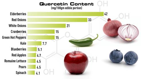 quercetin-rich-foods