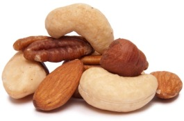eliminate fat belly with nuts