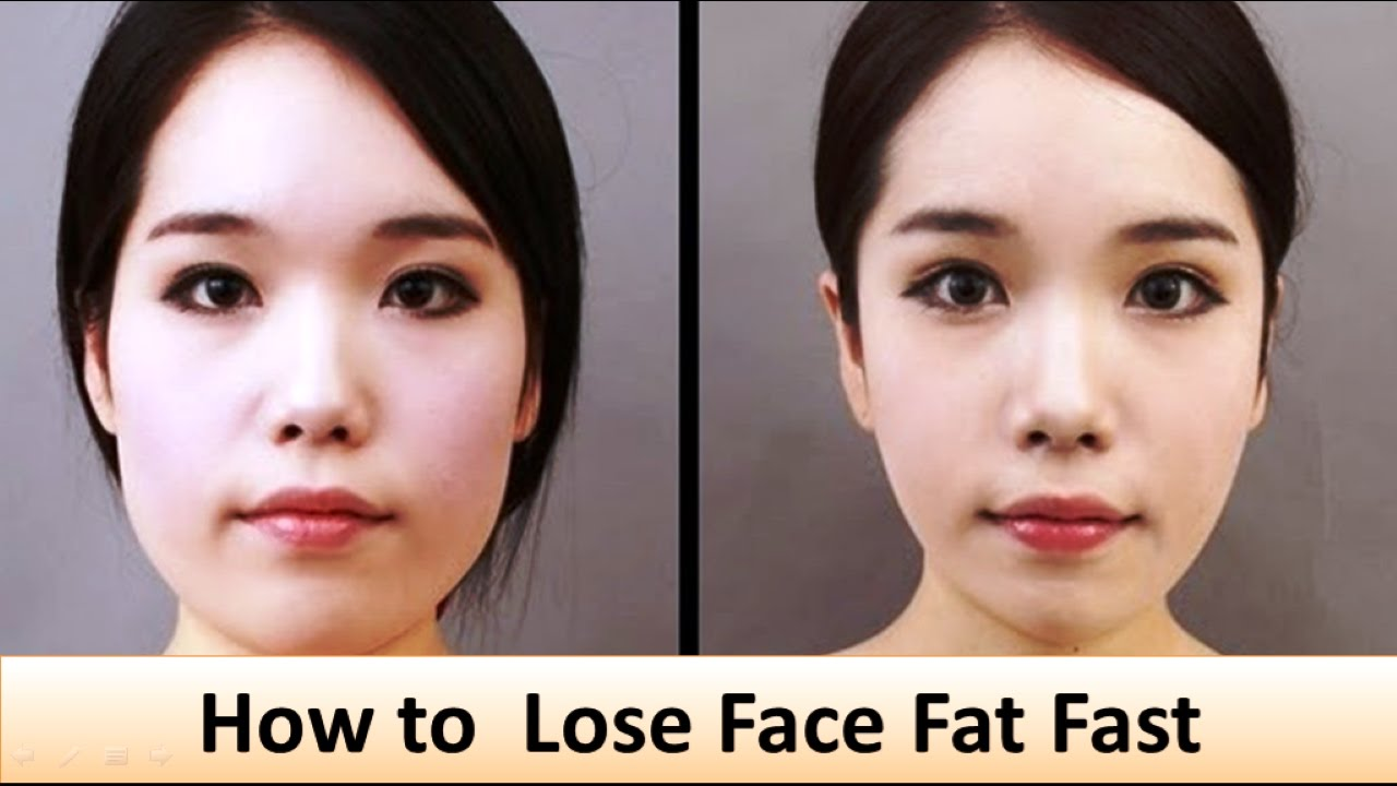 How to reduce face fat and double chin fast